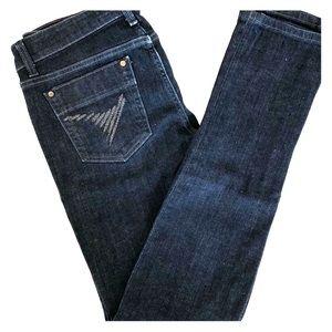 "Joe's Jeans - ""The Chelsea"" Skinny Jeans - Size 30"